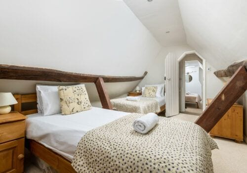 Beck Cottage New Forest Holiday homes attic twin room