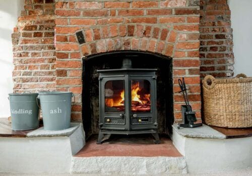 Self catering new forest woodburner Beck Cottage