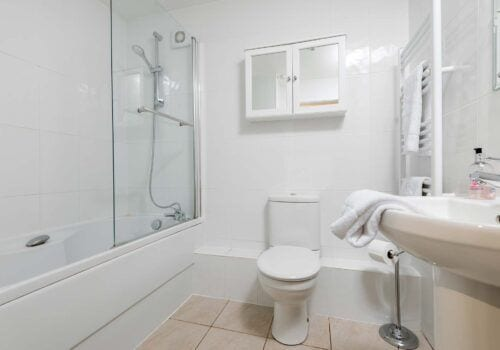 Holiday home new forest bathroom criddlestyle cottage