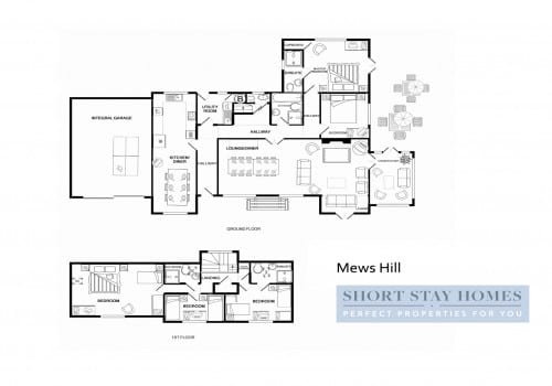 New Forest Cottage floor plan