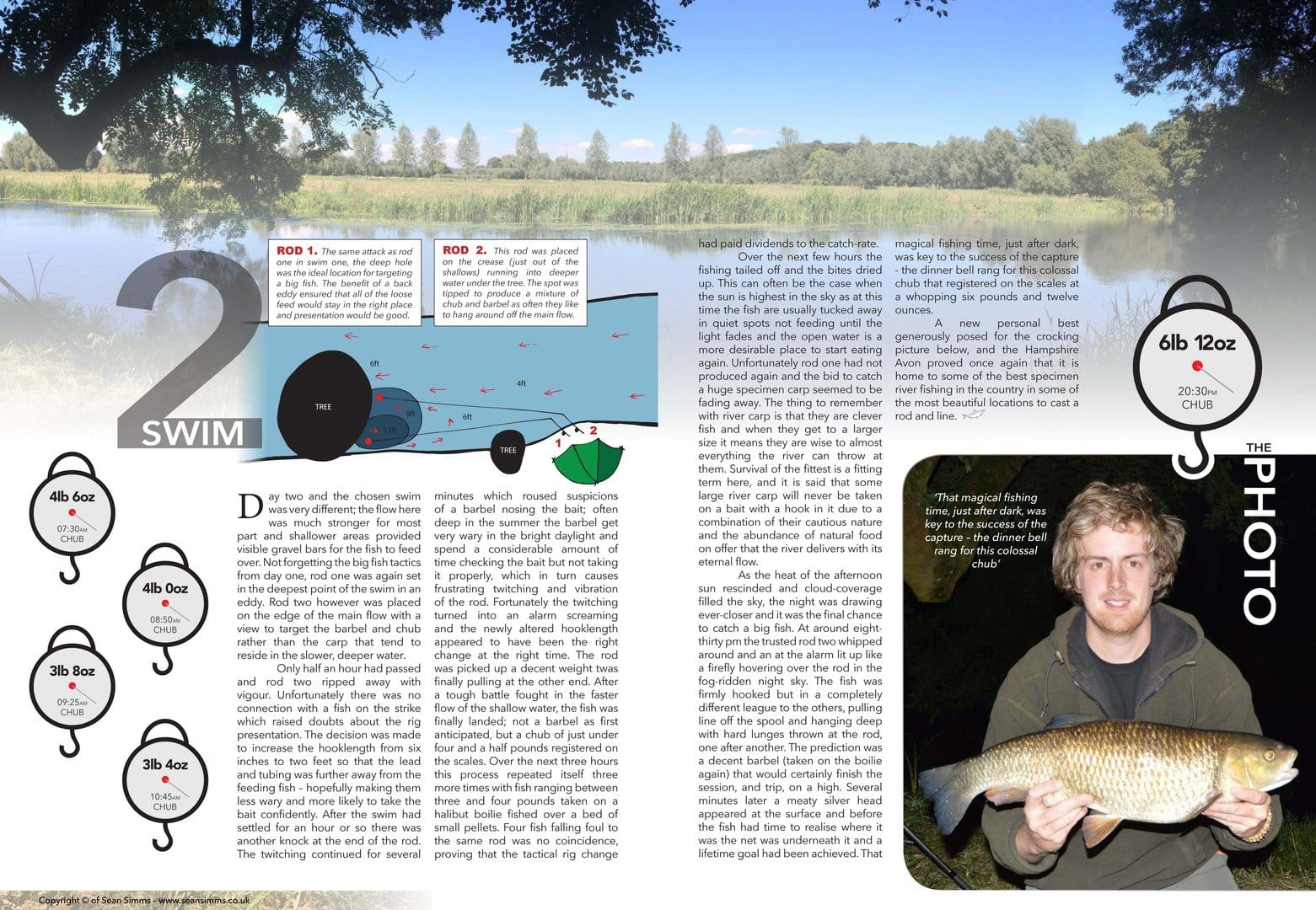 Fishing on the Hampshire Avon page 3