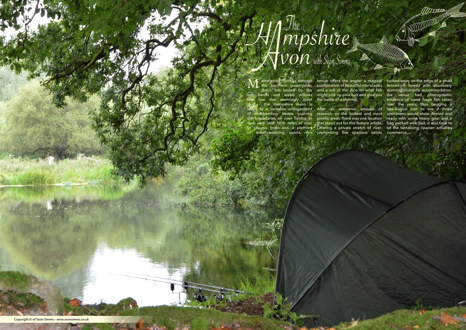 Article about the Hampshire Avon fishing