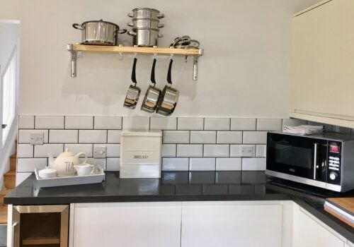 Fully equipped Kitchen in holiday home in Devon