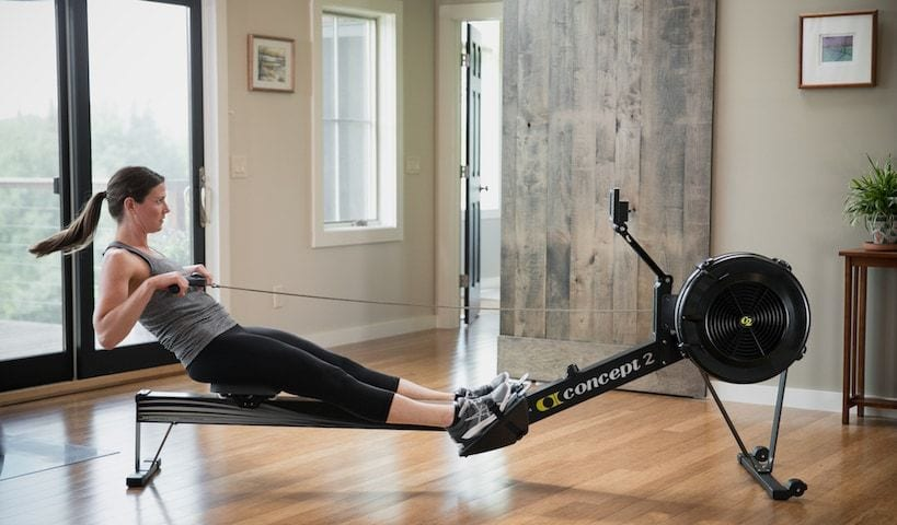 Rowing Machine hire available at Short Stay Homes to keep up with your fitness regime whilst away