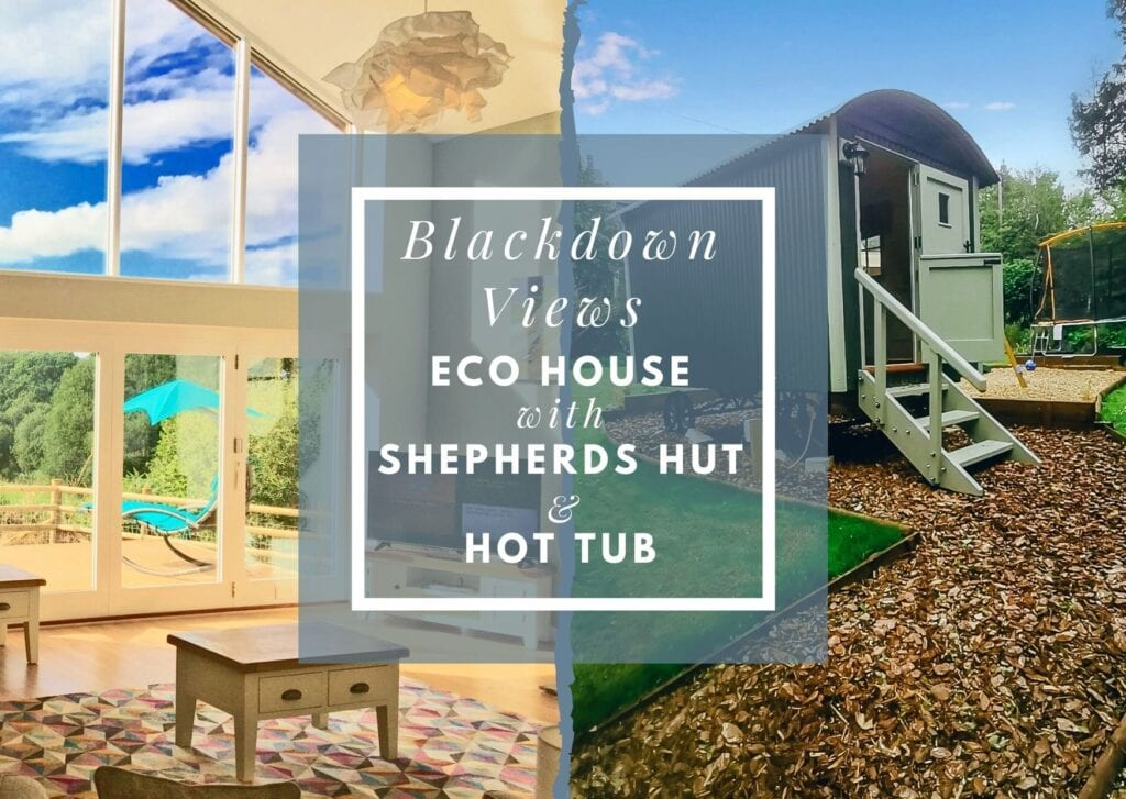 Devon self catering holiday let with Shepherds Hut
