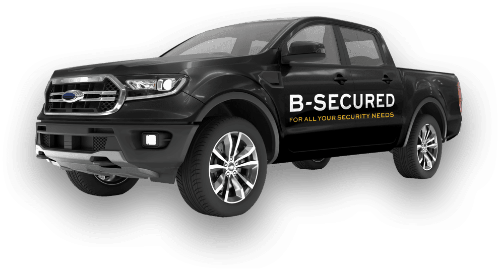 B-Secured vehicle for event security.