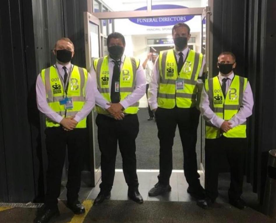 Festival Security Hire from B-Secured.