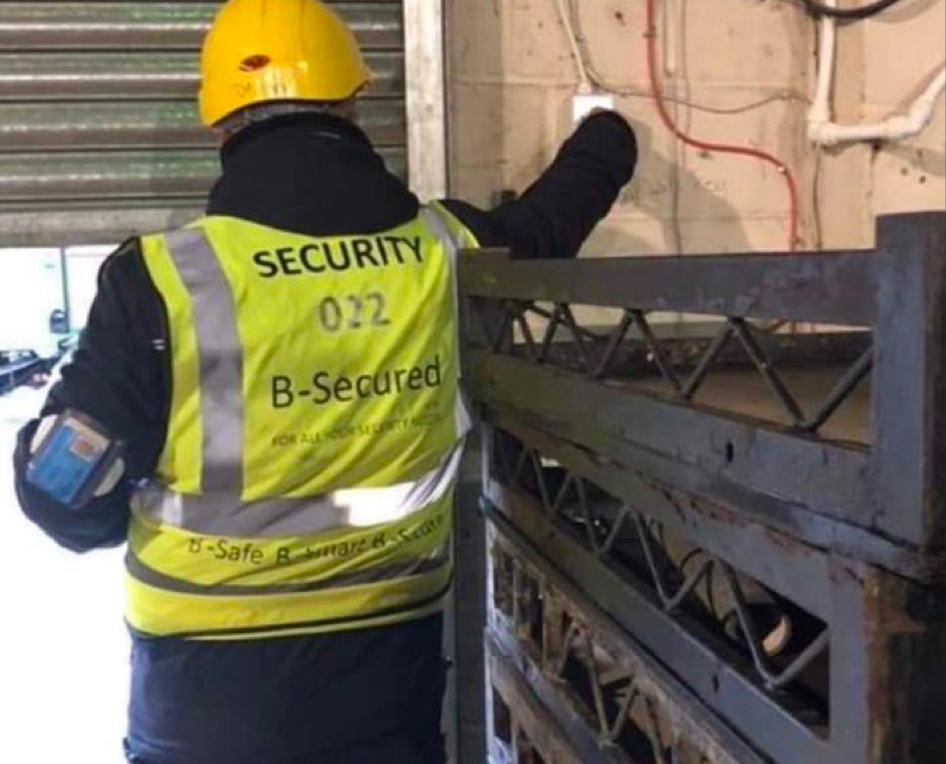 We are proud to provide Manned Guarding Services.