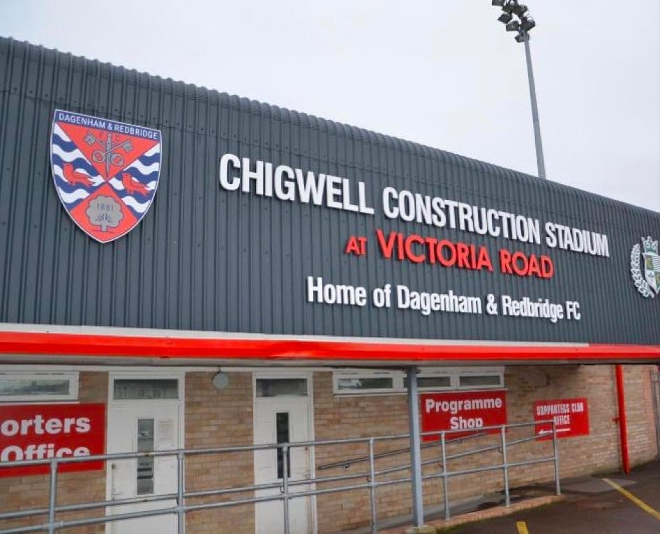 Dagenham. B-Secured are supporters of the daggers.