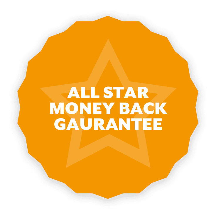 Money back guarantee with our business coaching programme.