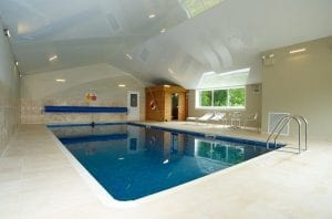 Crepe Farmhouse - luxury Dorset holiday accommodation with indoor swimming pool
