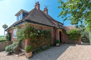 Countryside Dorset holiday cottage axen lodge