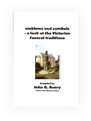 Meanings to monumental symbols by John Avery.