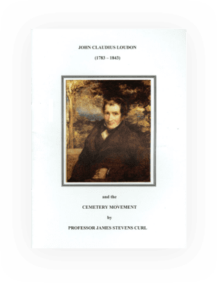 Publication by John Claudius Loudon and the Cemetery Movement