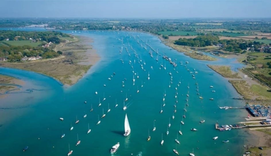 Hire a campervan and visit the Chichester Harbour in Chichester.