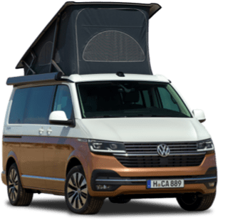 Campervan available for hire with Chichester Campervan Hire.