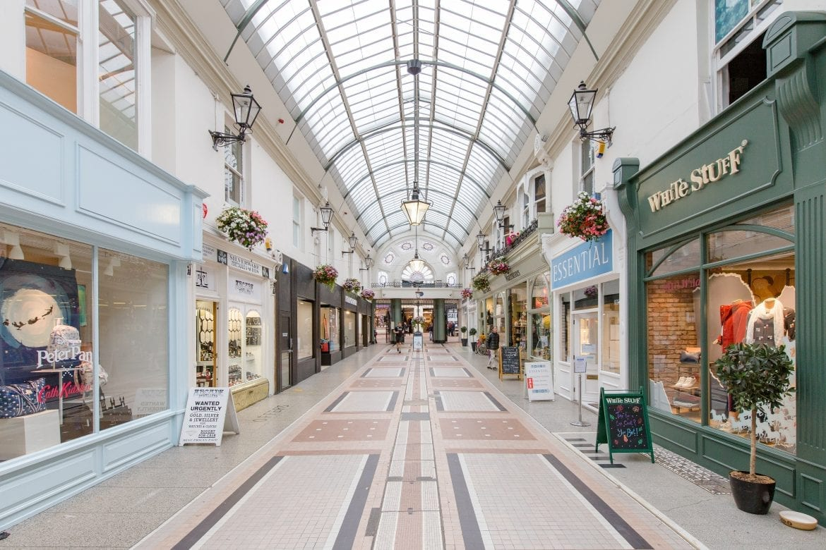 Explore Bournemouth shopping centre with Southampton Campers.