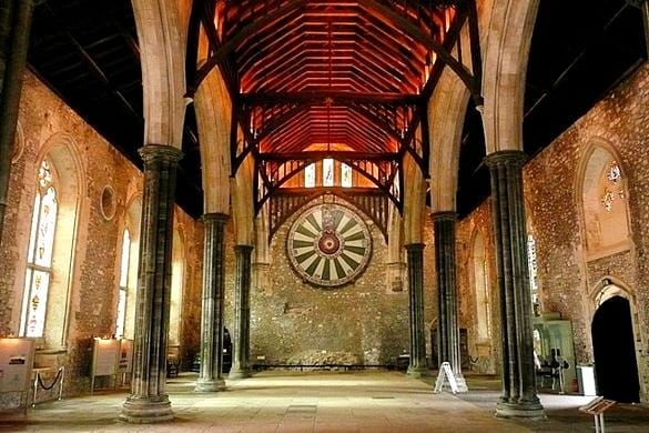 Hire a Winchester campervan and visit the Great Hall.