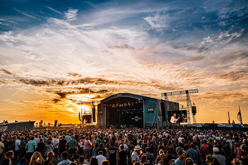 Stay in one of our Portsmouth campervans when you go to Victorious Festival.