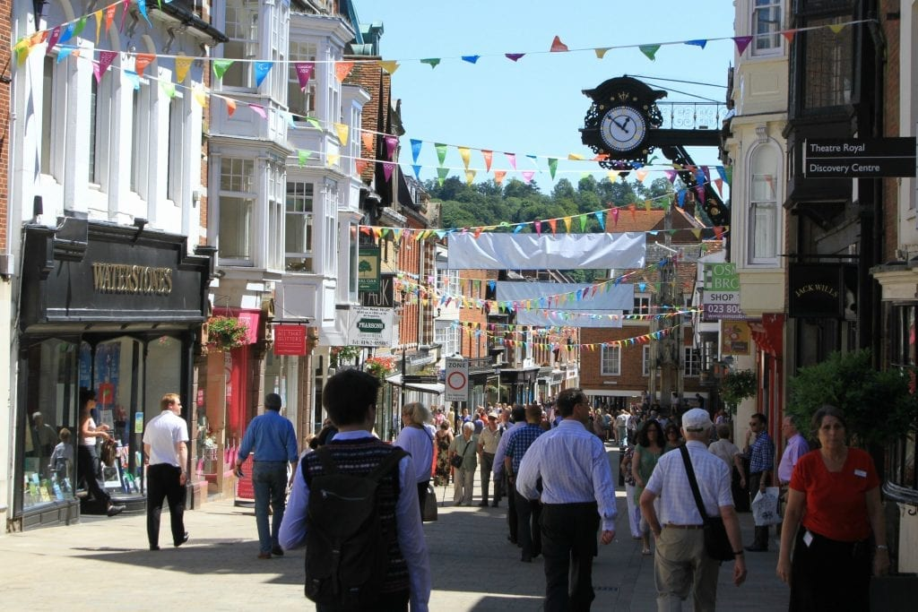 Hire one of our Winchester campervans and experience the shopping and architecture on offer.