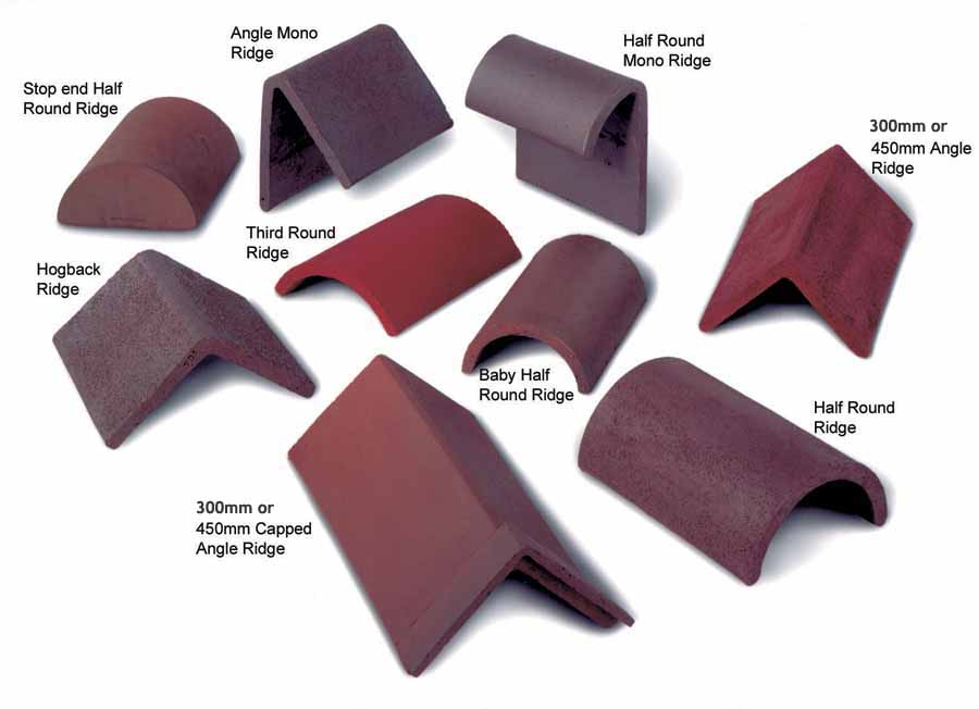 Ridges are available from Tile Specialist in Hampshire.