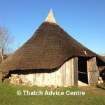 The Little Woodbury Thatched Roundhouse   Thatch Advice Centre