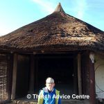 The Little Woodbury Roundhouse   Thatch Advice Centre