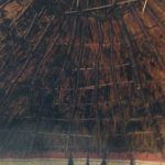 The Little Woodbury Roundhouse Interior   Thatch Advice Centre