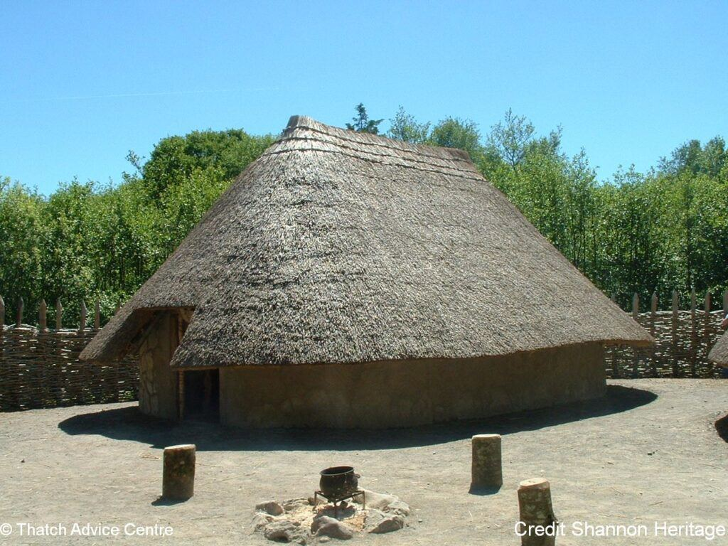 Thatch Advice Centre Article - Crannog - Ireland from Shannon Heritige