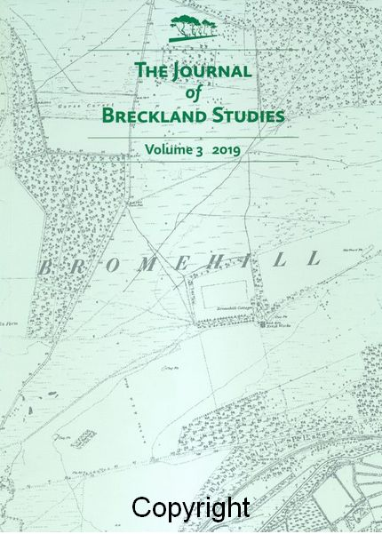 Front Cover - Breckland Society Journal with thatch article